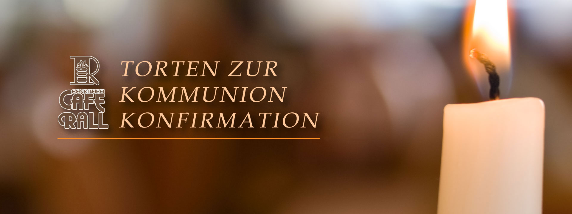 Torten zur Kommunnion und Konfirmation.