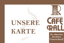 Karte Cafe Rall in Viernheim